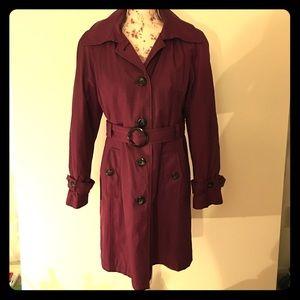 🌂💜 Gallery Purple Trench Coat 💜🌂